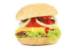 开胃快餐汉堡包。 免版税库存图片