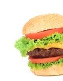 开胃快餐汉堡包。 库存照片
