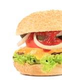 开胃快餐汉堡包。 图库摄影