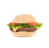 开胃快餐汉堡包 图库摄影
