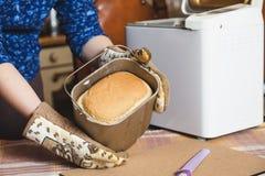 开胃新鲜的面包以烘烤面包的形式 免版税库存图片