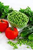 开胃新鲜蔬菜 库存照片