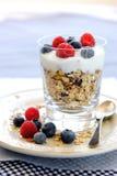 开胃早餐冷甜点 免版税库存照片