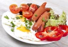 开胃早餐 库存图片