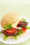 开胃汉堡包 免版税库存图片