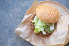 开胃汉堡包 免版税库存照片
