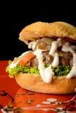 开胃汉堡 免版税库存图片