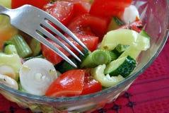 开胃沙拉蔬菜 免版税库存图片