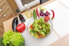 开胃沙拉蔬菜 图库摄影