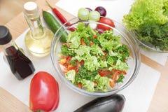 开胃沙拉蔬菜 库存照片