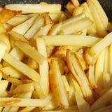 开胃烤土豆片 库存图片