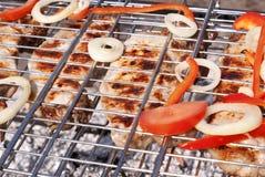 开胃烤肉烤肉 库存照片