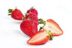 开胃红色草莓1 图库摄影