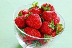开胃红色草莓 免版税库存照片
