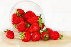 开胃红色草莓 库存图片