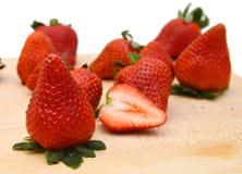 开胃草莓 库存照片