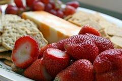 开胃草莓 免版税图库摄影