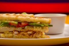 开胃菜三明治 免版税库存照片