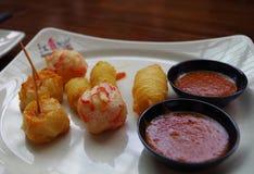 开胃菜在新加坡 库存图片