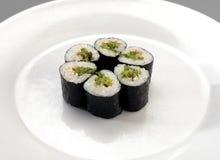 开胃菜寿司 免版税图库摄影