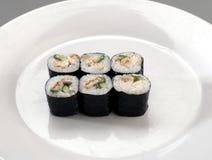 开胃菜寿司 免版税库存图片