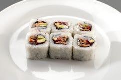 开胃菜寿司 库存照片