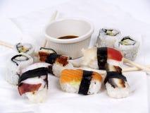 开胃菜寿司 图库摄影