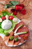 开胃菜意大利语 库存图片