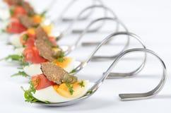 开胃菜新鲜的块菌 免版税库存图片