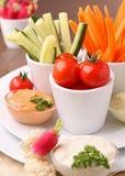 开胃菜新鲜自助餐的食物 图库摄影
