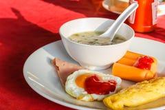 开胃菜早餐 免版税库存照片