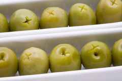 开胃菜橄榄 免版税库存照片