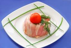 开胃菜法国头脑陶罐 库存照片