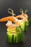 开胃菜用大虾 库存照片