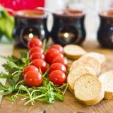 开胃菜用西红柿 库存照片
