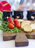 开胃菜用西红柿 库存图片