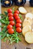 开胃菜用西红柿 免版税库存照片