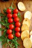 开胃菜用西红柿 免版税库存图片