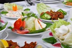 开胃菜的类型 图库摄影