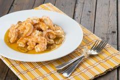 开胃菜的虾scampi 图库摄影