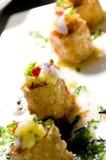 开胃菜结块泰国的螃蟹 免版税图库摄影