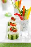 开胃菜节假日蔬菜 免版税库存照片