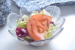 开胃菜蕃茄沙拉 免版税库存照片