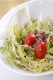 开胃菜蕃茄沙拉 图库摄影