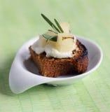 开胃菜蛋糕茴香制成了菜泥美味的迷迭香 免版税库存照片
