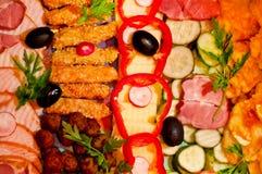 开胃菜食物 免版税库存照片