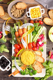 开胃菜,自助餐食物 免版税图库摄影