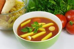 开胃蕃茄汤 图库摄影