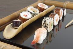 开胃部分寿司 库存照片