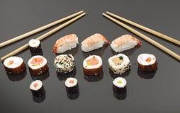 开胃部分寿司 免版税库存图片